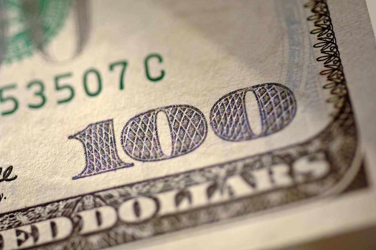 US Hundred Dollar Bill